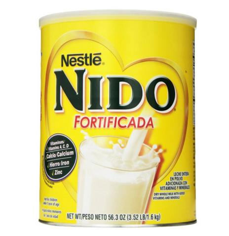 $11.88 Nestle NIDO Fortificada Dry Milk, 3.52 Pound Canister