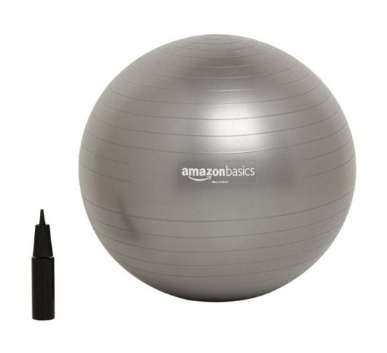 $9.96 AmazonBasics Balance Ball with Hand Pump @ Amazon