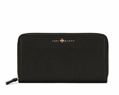 BRODY ZIP CONTINENTAL WALLET @ Tory Burch