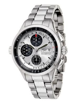 Hamilton Men's Khaki Aviation X-Patrol Auto Chrono Watch