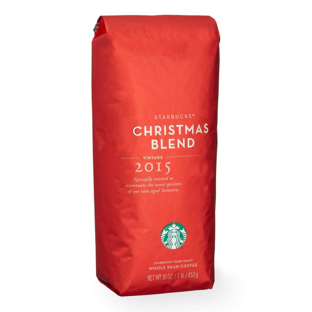 1lb Starbucks Christmas Blend, Whole Bean or Ground Coffee