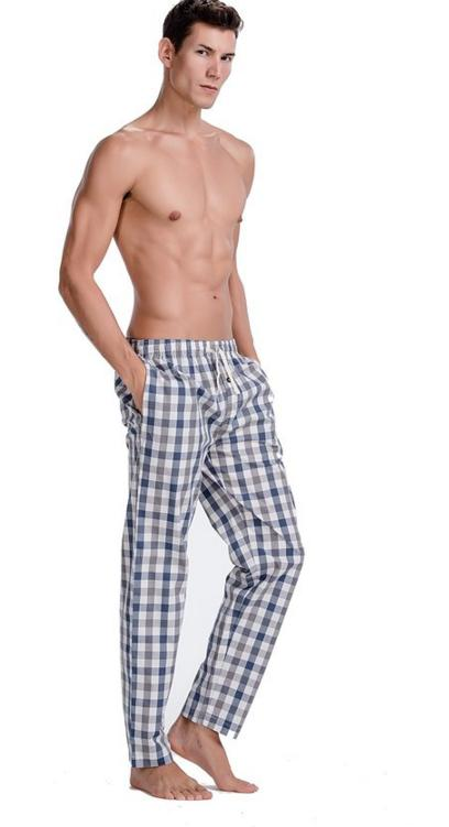 $8.99 CYZ Men's Cotton Pajama Pants Woven Plaid Sleep Lounge Pants