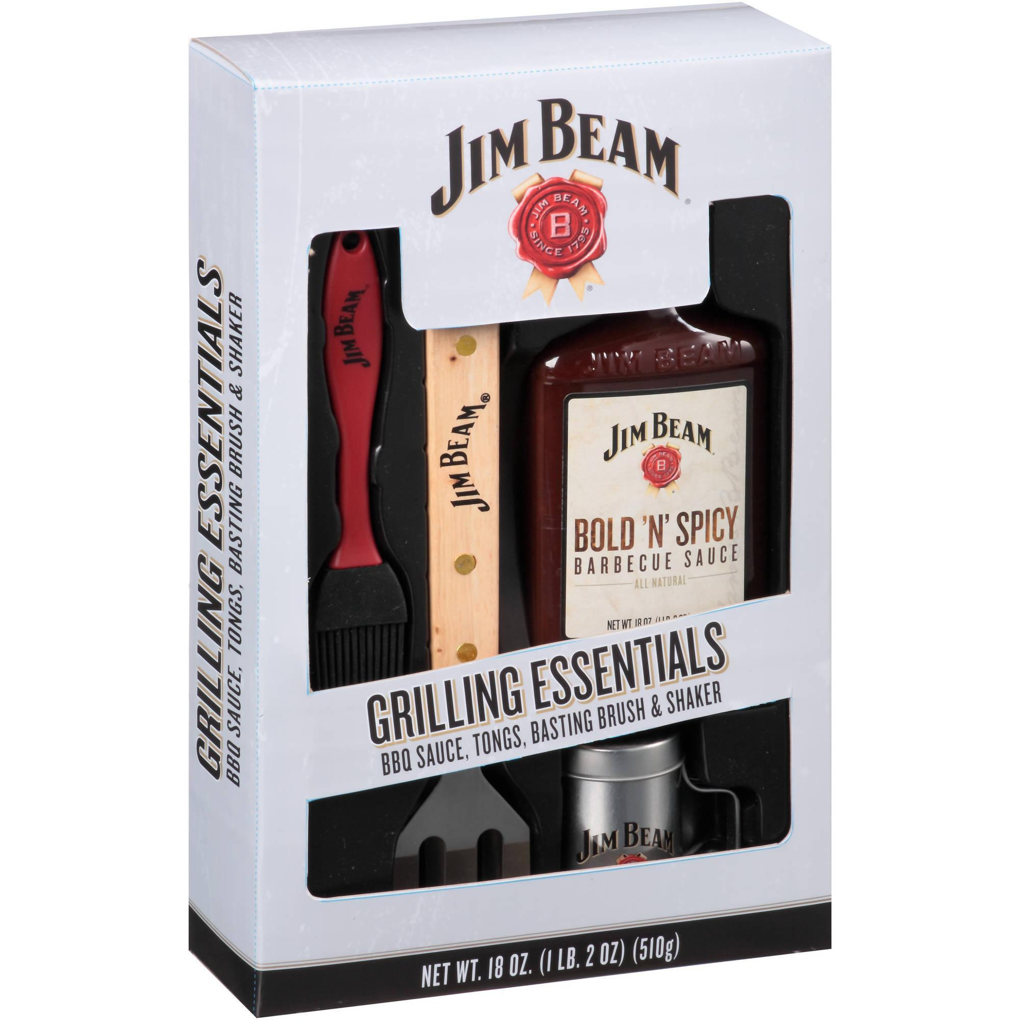 Jim Beam Deluxe BBQ Set