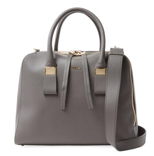 Furla Twiggy Medium Leather Satchel @ Gilt