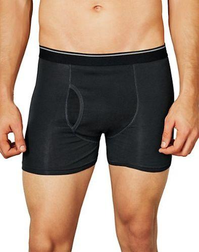 $5.69 Hanes Men's TAGLESS®Ultimate Pima Cotton Boxer Brief 3-Pack - style UDTCB3