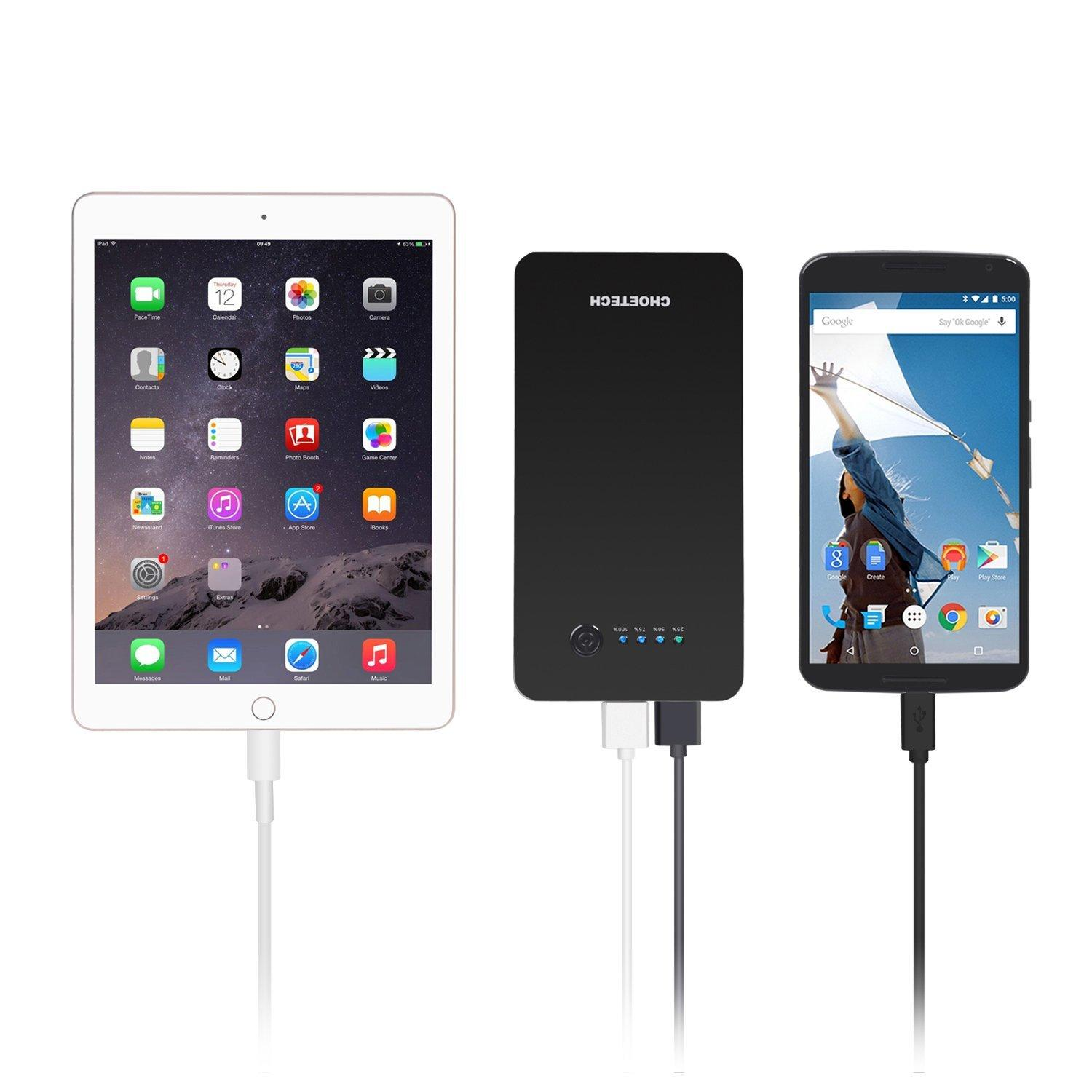Quick Charge 2.0 Power Bank-CHOE B611Q 15600mAh (Apple Lightning Charging Port)