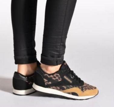 Women's Reebok Classic Nylon Wild Casual Shoes