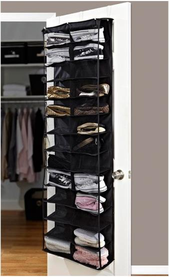 Home Collections 26 Pocket Over the Door Shoe Organizer