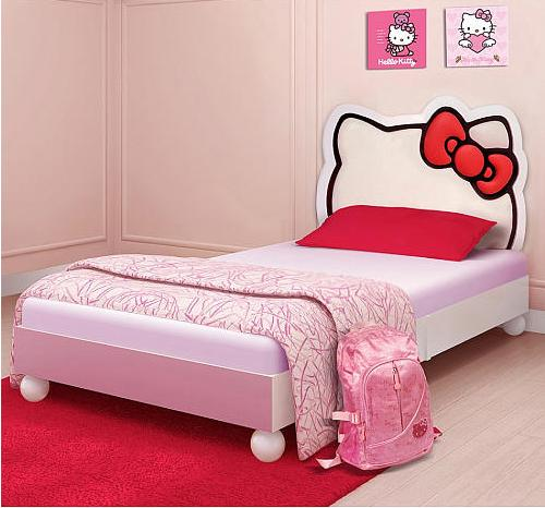 $149.98 Hello Kitty Twin Bed