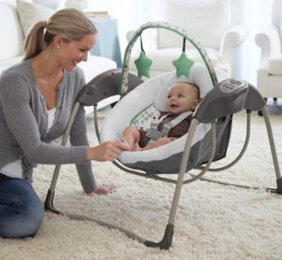 Graco Glider Lite LX Gliding Swing, Lambert @ Amazon