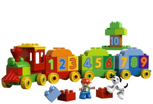 LEGO DUPLO My First Number Train Building Set 10558 @ Amazon