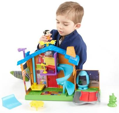 Fisher-Price Julius Jr. Rock 'n Playhouse Box @ Amazon
