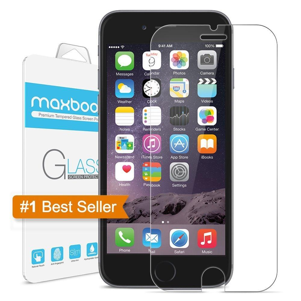 Maxboost Tempered Ballistic Glass iPhone 6 Plus Compatible