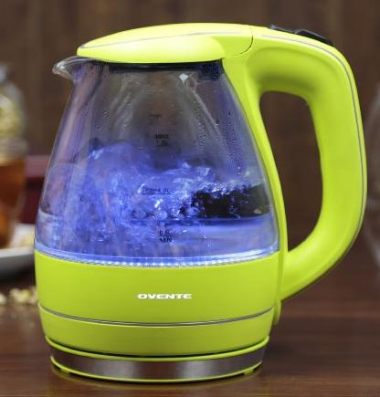 Ovente KG83B Glass Electric Kettle, 1.5-L @ Amazon