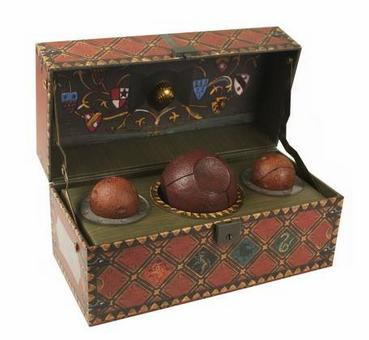Pre-Order! Harry Potter: Collectible Quidditch Set