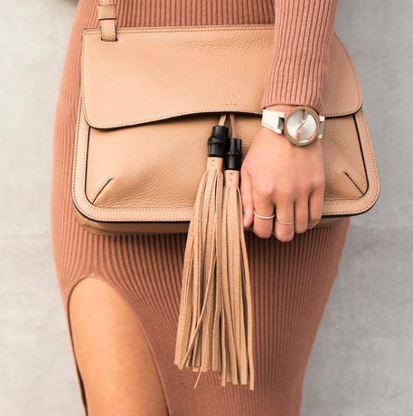 Gucci Medium Bamboo Daily Bag, Rose Beige On Sale @ MYHABIT