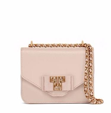 DECO-T MINI CHAIN CROSS-BODY @ Tory Burch