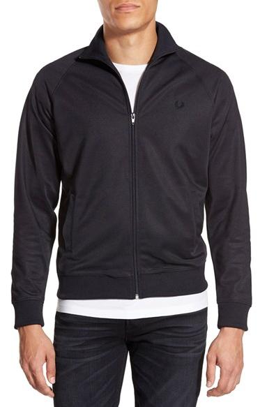Fred Perry Zip Front Raglan Track Jacket On Sale @ Nordstrom