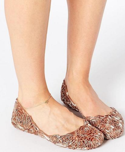 Melissa 'Campana Fitas' Jelly Flat On Sale @ Nordstrom