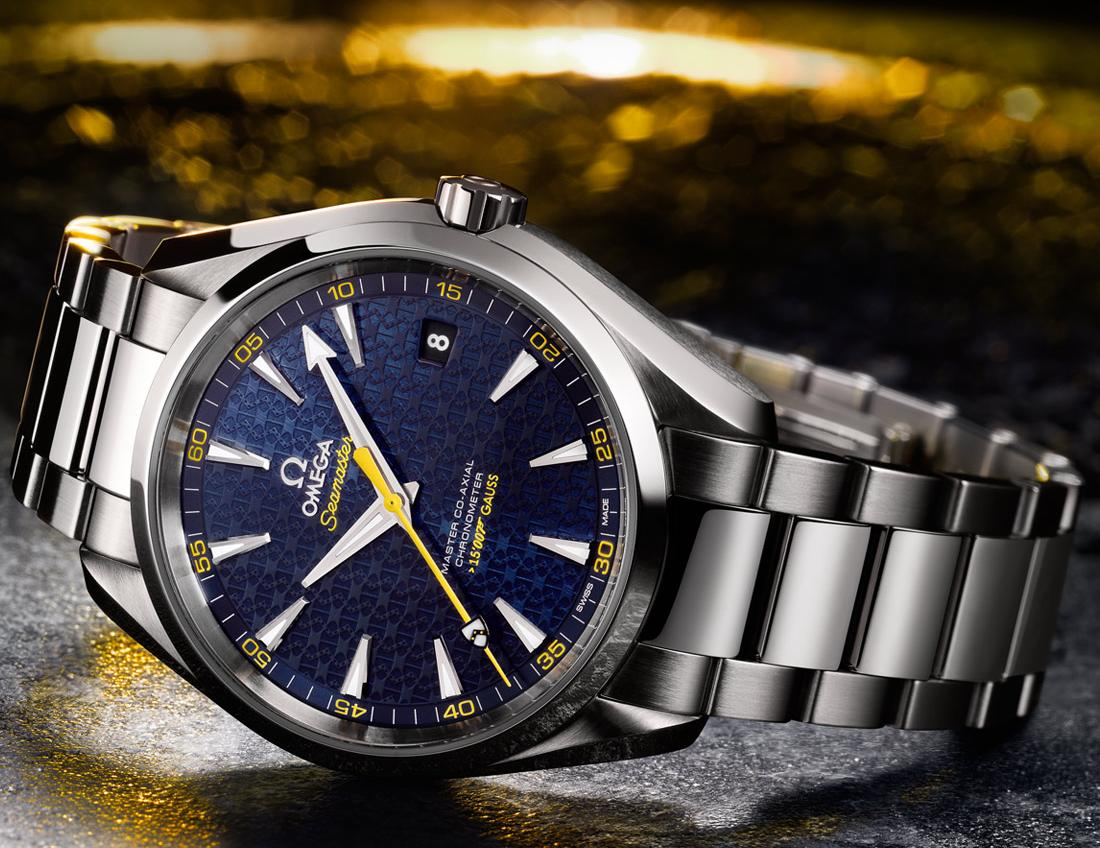 Omega Seamaster James Bond Limited Edition Aqua Terra Automatic Men's Watch 231.10.42.21.03.004