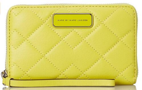 Marc by Marc Jacobs Sophisticato Crosby Quilt Leather Wingman Small Good Wallet