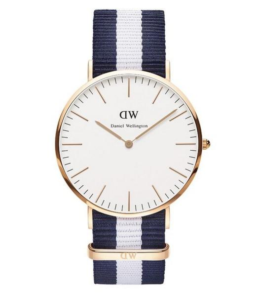 Daniel Wellington Men's 0104DW Classic Glasgow Rose Gold-Tone Stainless Steel Watch