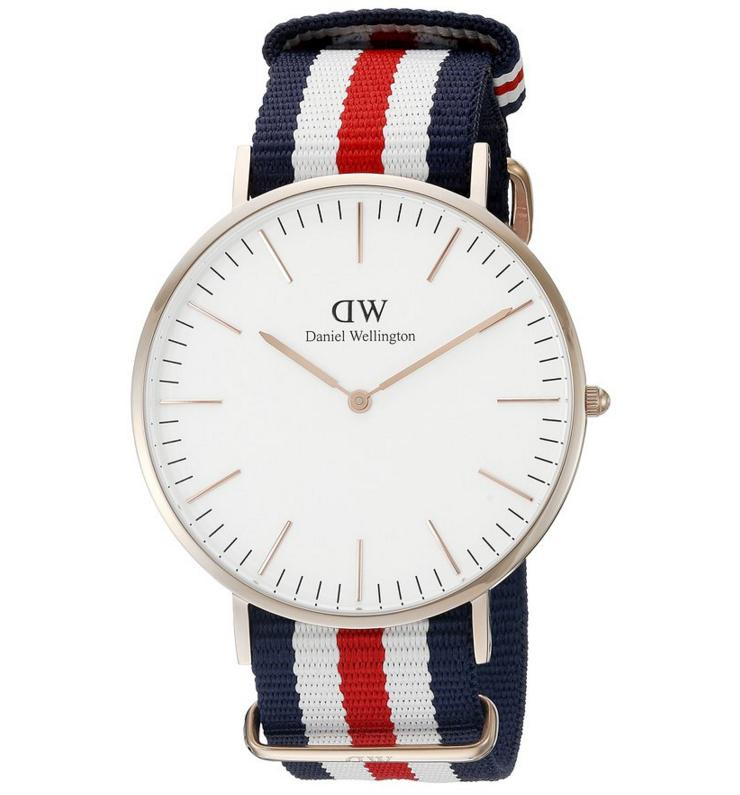 Daniel Wellington Men's 0102DW Canterbury Round Watch