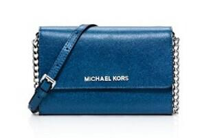 MICHAEL Michael Kors Jet Set Travel Metallic Crossbody @ Bloomingdales