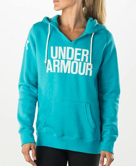 Women's Under Armour Favorite Fleece Hoodie @ FinishLine.com