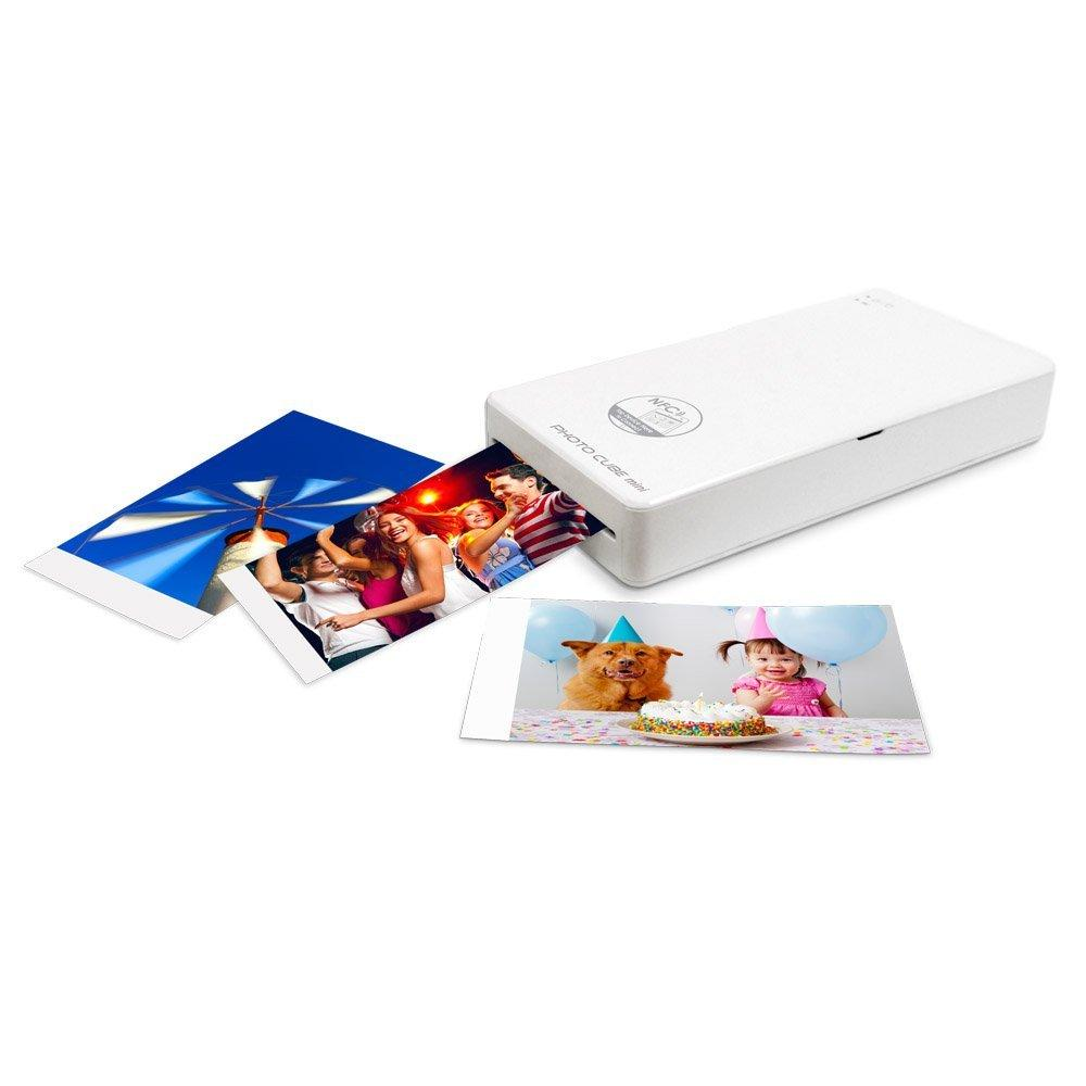 Vupoint IPWF-P01-VP Photo Cube Mini Wiresless Samrt Photo Printer