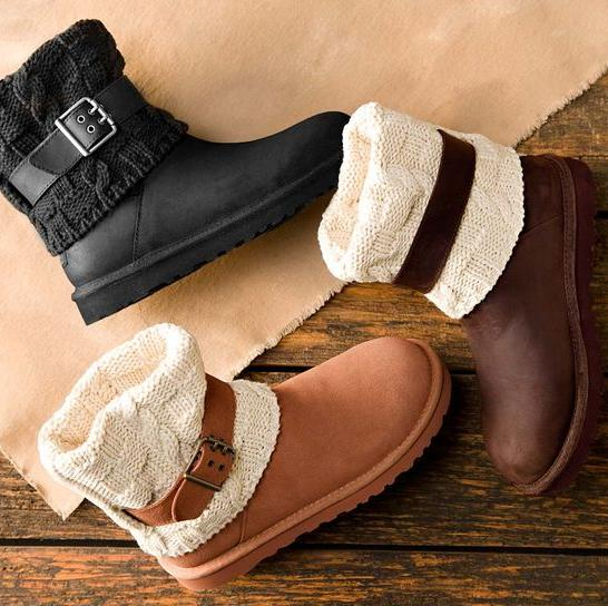 UGG® Cassidee Knit Boots On Sale @ Dillard's