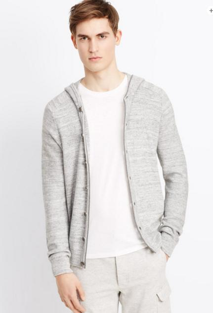 Up to 60% Off + Extra 25% Off + Free Shipping Men's  Apparels On Sale @ Vince.