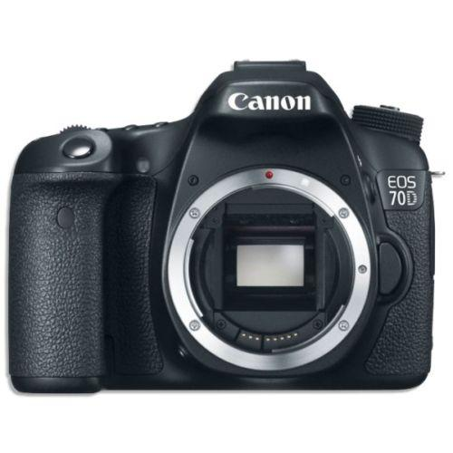 $649 Canon EOS 70D DSLR Digital SLR Camera Body Only