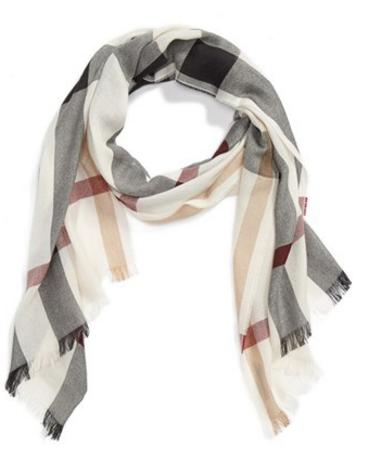 Burberry Check Scarf On Sale @ Nordstrom