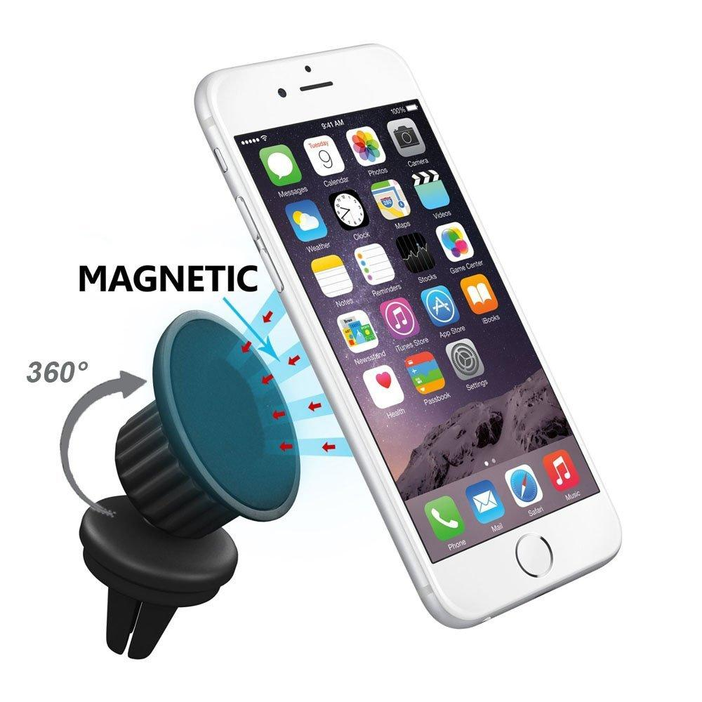eLander Air Vent Magnetic Universal Car Mount Holder w/ 360 rotate