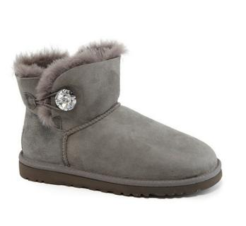 UGG® Mini Bailey Button Bling Boots