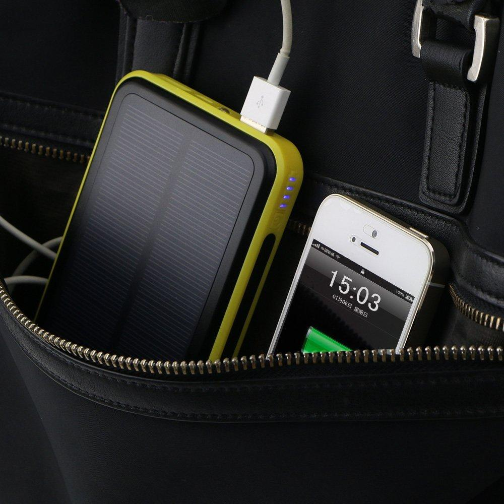 ALLPOWERS 10000mAh Solar Panel Charger