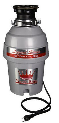 Waste King L-8000 Legend Series 1.0-Horsepower Continuous-Feed Garbage Disposal