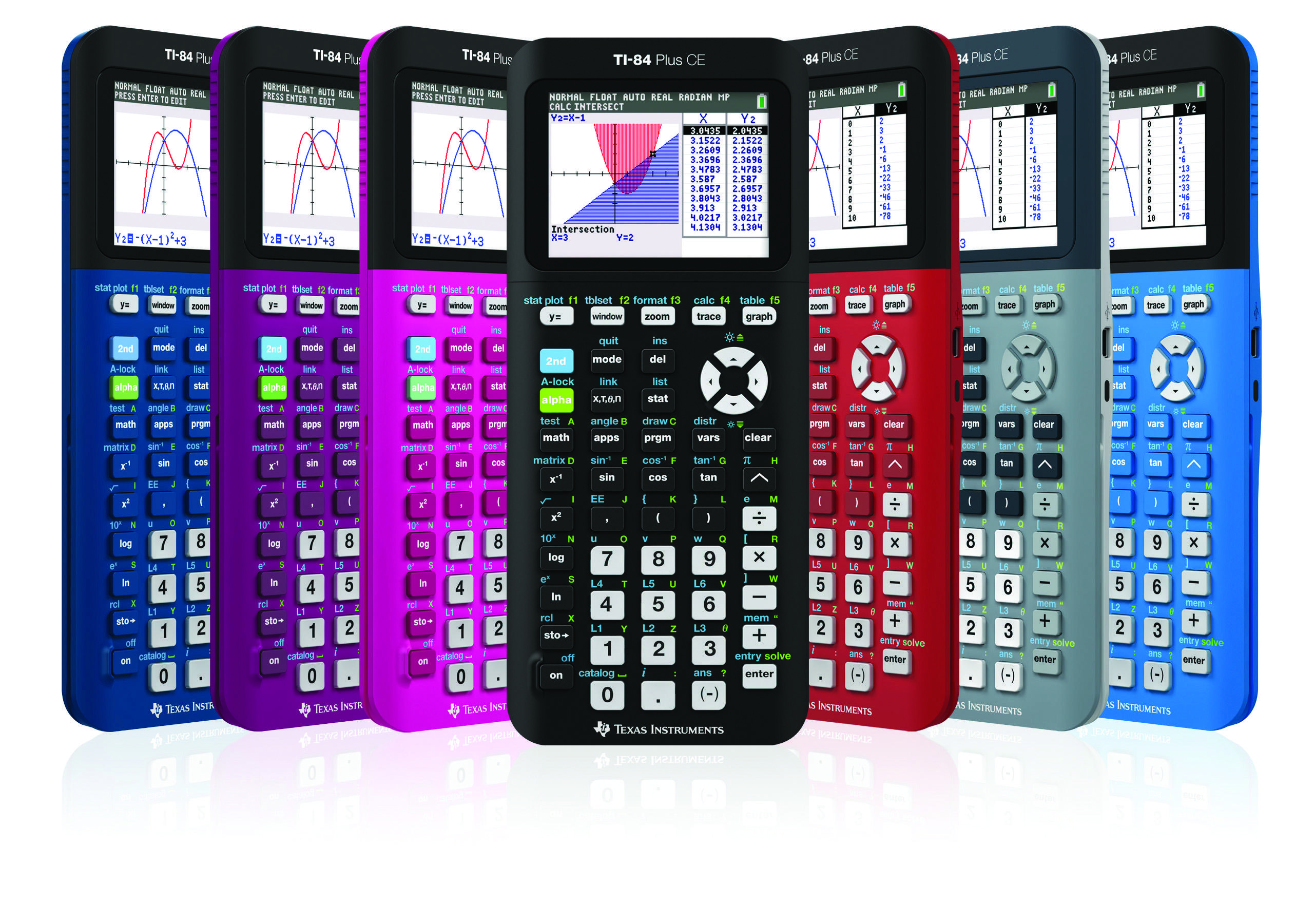 $124.99 Texas Instruments - TI-84+CE Graphing Calculator