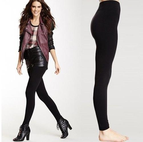 Steve Madden Ultra Comfort Fleece Lined Leggings - Solid