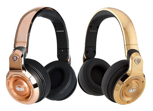 Monster 24K Over-Ear Hardwired DJ Headphones