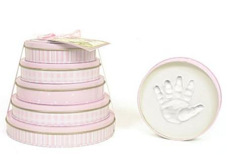 Child to Cherish Handprints Tower Of Time Kit in Pink @ Amazon