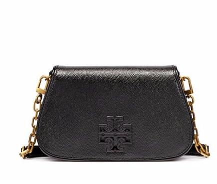 BRITTEN PATENT MINI CROSS-BODY @ Tory Burch