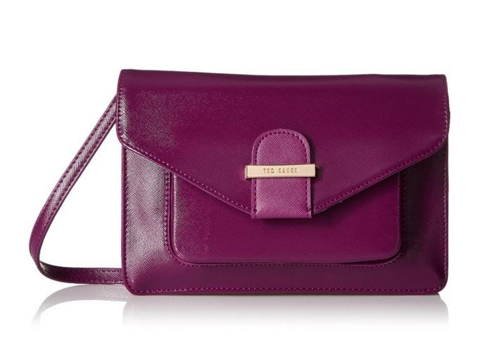$54.00 Ted Baker Lainey Crosshatch Cross-Body Bag
