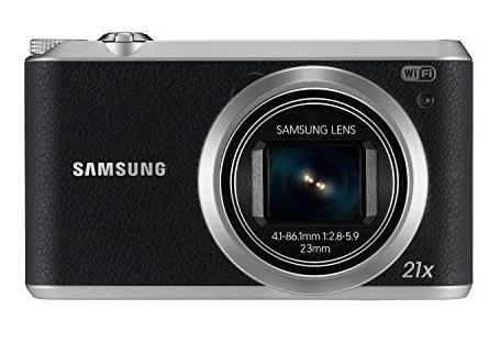 Samsung EC-WB350FBPBUS 16.3 MP Digital Camera with 21x Optical Image Stabilized Zoom with 3-Inch LCD