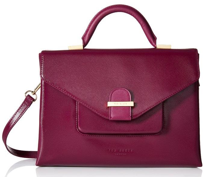 Ted Baker Lavena Crosshatch Structured Tote Bag
