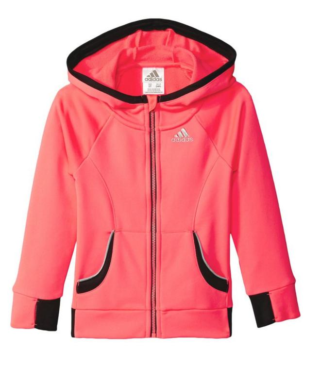 $8.39 adidas Little Girls' Fast Track Jacket