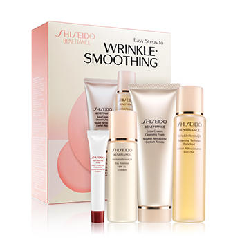 New Release 4 Valued Skincare Sets @ Shiseido