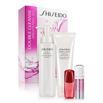 $67 Shiseido White Lucent Double Cleanse Brightening Set ($128 Value)