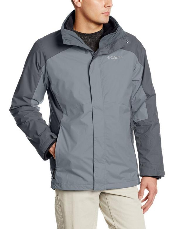 $74.02 Columbia Men's Eager Air Interchange 3-in-1 Jacket